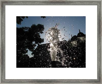 None Framed Print by HollyWood Creation By linda zanini