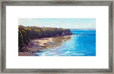 Norah Head Australia Framed Print by Graham Gercken
