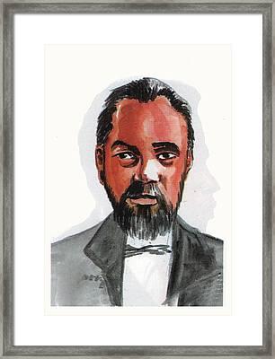 Norbert Rillieux Framed Print by Emmanuel Baliyanga