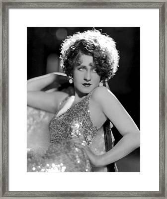 Norma Shearer, 1931 Framed Print by Everett