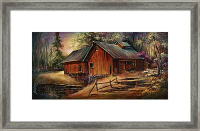 North Country Framed Print by Michael Lang