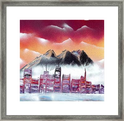 North West Dawn Framed Print by Marc Chambers