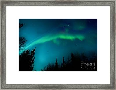 Northern Magic Framed Print by Priska Wettstein