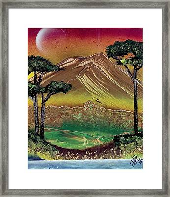 Northern Spring Framed Print by Marc Chambers