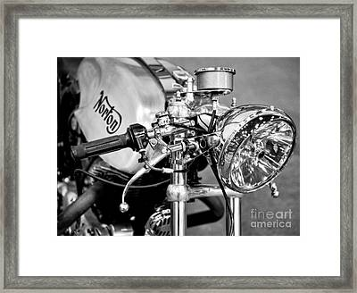 Norton Dominator Framed Print by Ari Salmela