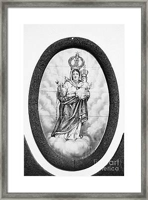 Nossa Senhora Da Paz Framed Print by Gaspar Avila
