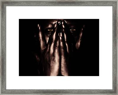 Not My Dark Soul.. Framed Print by Stelios Kleanthous