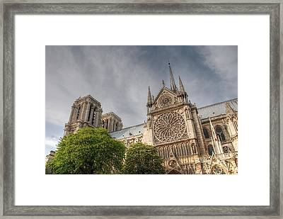 Notre Dame De Paris Framed Print by Jennifer Ancker
