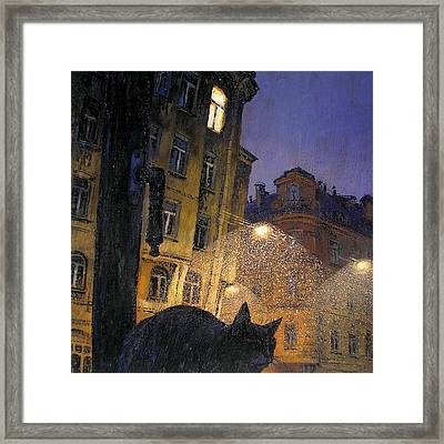 November Framed Print by Aleksey Zuev