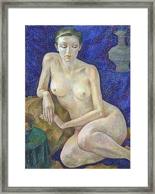 Nu 27 Framed Print by Leonid Petrushin