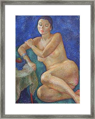 Nu 31 Framed Print by Leonid Petrushin