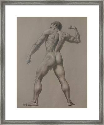 Nude-8 Framed Print by Valeriy Mavlo
