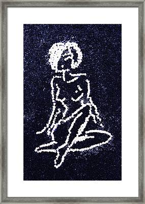 Nude Female Framed Print by Natalya A