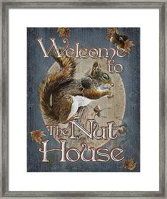 Nut House Framed Print by JQ Licensing