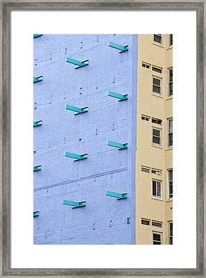 Ny Composition 1 Framed Print by Art Ferrier