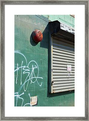 Ny Composition 3 Framed Print by Art Ferrier