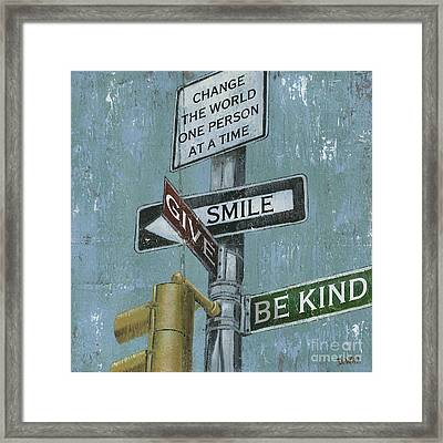 Nyc Inspiration 1 Framed Print by Debbie DeWitt