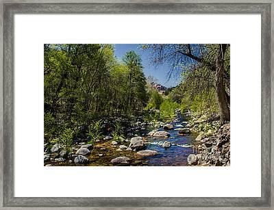 Oak Creek Framed Print by Robert Bales