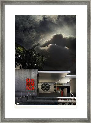 Oakland Museum Of California . 7d13039 Framed Print by Wingsdomain Art and Photography