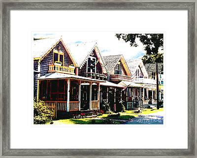 Oaks Bluff Martha's Vineyard Framed Print by John Travisano