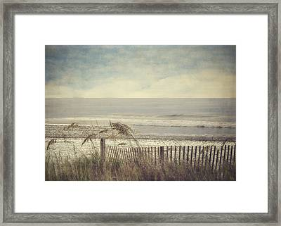 Ocean Breeze Framed Print by Kathy Jennings