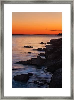 Ocean Light Framed Print by Steve Gadomski