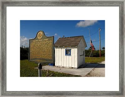 Ochopee Post Office Framed Print by David Lee Thompson