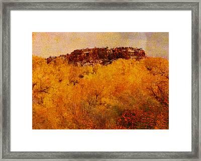 October  Framed Print by Ann Powell