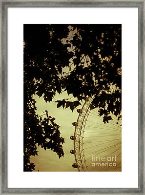 October Mist Framed Print by Jan Bickerton