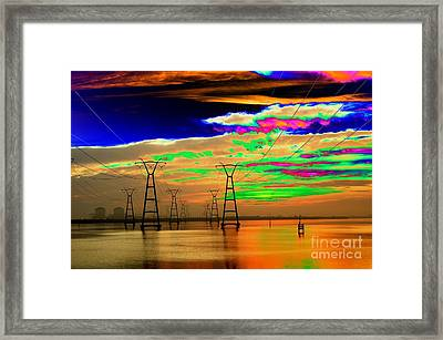 Of Course It's Safe Framed Print by Don Youngclaus