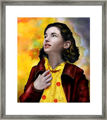 Ofelia's Dream Framed Print by Mary Hood