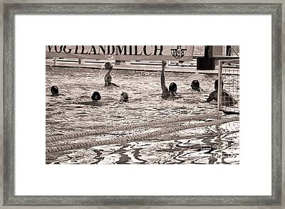 Offensive Zone Framed Print by Ari Salmela