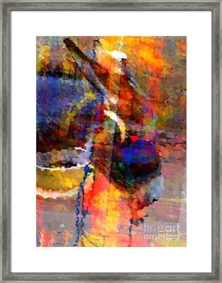 Oh Oh Donkey Framed Print by Fania Simon