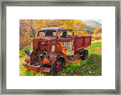 Old And Broken Framed Print by Marc Crumpler