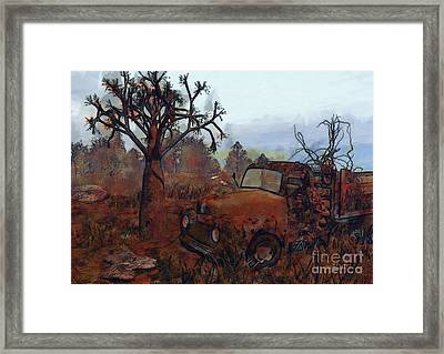 Old And Forgotten Framed Print by Jutta Maria Pusl