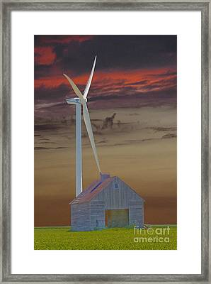 Old And New Framed Print by Jim Wright