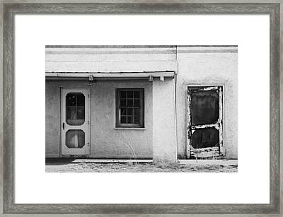 Old Buiding Near Silver City Framed Print by Bob Russman