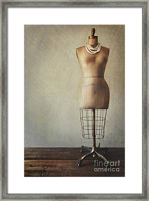 Old But Still Beautiful Framed Print by Sandra Cunningham