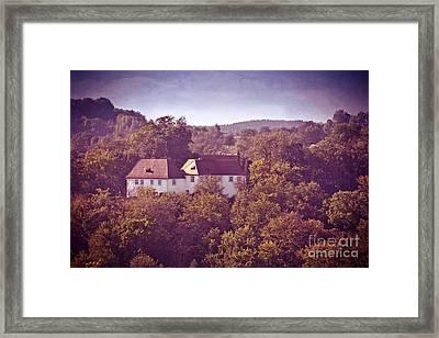 Old Castle Framed Print by VIAINA Visual Artist
