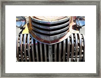 Old Chevrolet - 5d16443 Framed Print by Wingsdomain Art and Photography