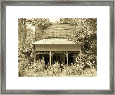 Old Dapartment Store Framed Print by Floyd Smith
