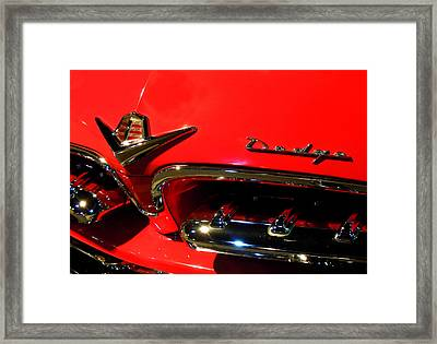 Old Dodge Framed Print by Farah Faizal