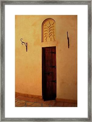 Old Door Framed Print by Radoslav Nedelchev