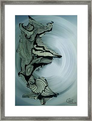 Old Drawing Called Serenity 2   Framed Print by Colette V Hera  Guggenheim