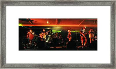 Old Friends Band Reunion Framed Print by Mary Frances