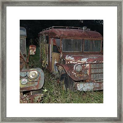 Old Friends Framed Print by Joseph G Holland