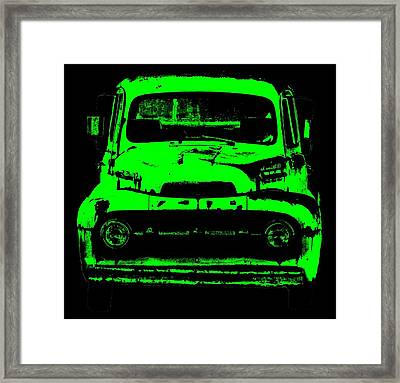 Old Ghost Framed Print by Ed Smith