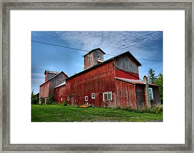 Old Granary IIi Framed Print by Steven Ainsworth