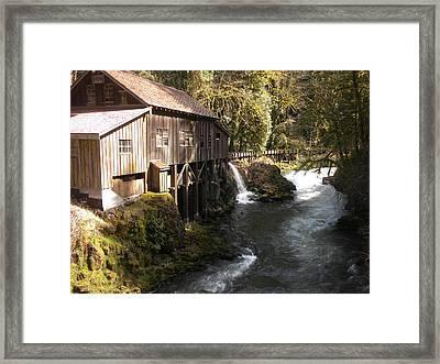 Old Grist Mill Framed Print by Garry Kaylor