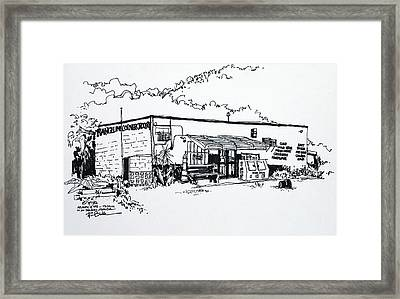 Old Grocery Store - W. Delray Beach Florida Framed Print by Robert Birkenes